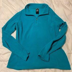 The North Face Woman's Fleece Teal Large
